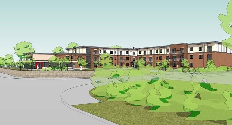 Strata housing services voakwood extra care facility - Oakwood homes design center colorado springs ...